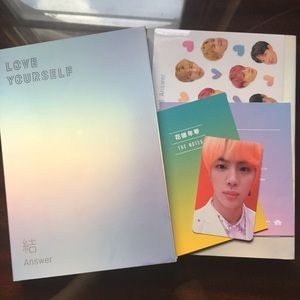 Other - OFFICIAL BTS LOVE YOURSELF: ANSWER ALBUM VERSION S